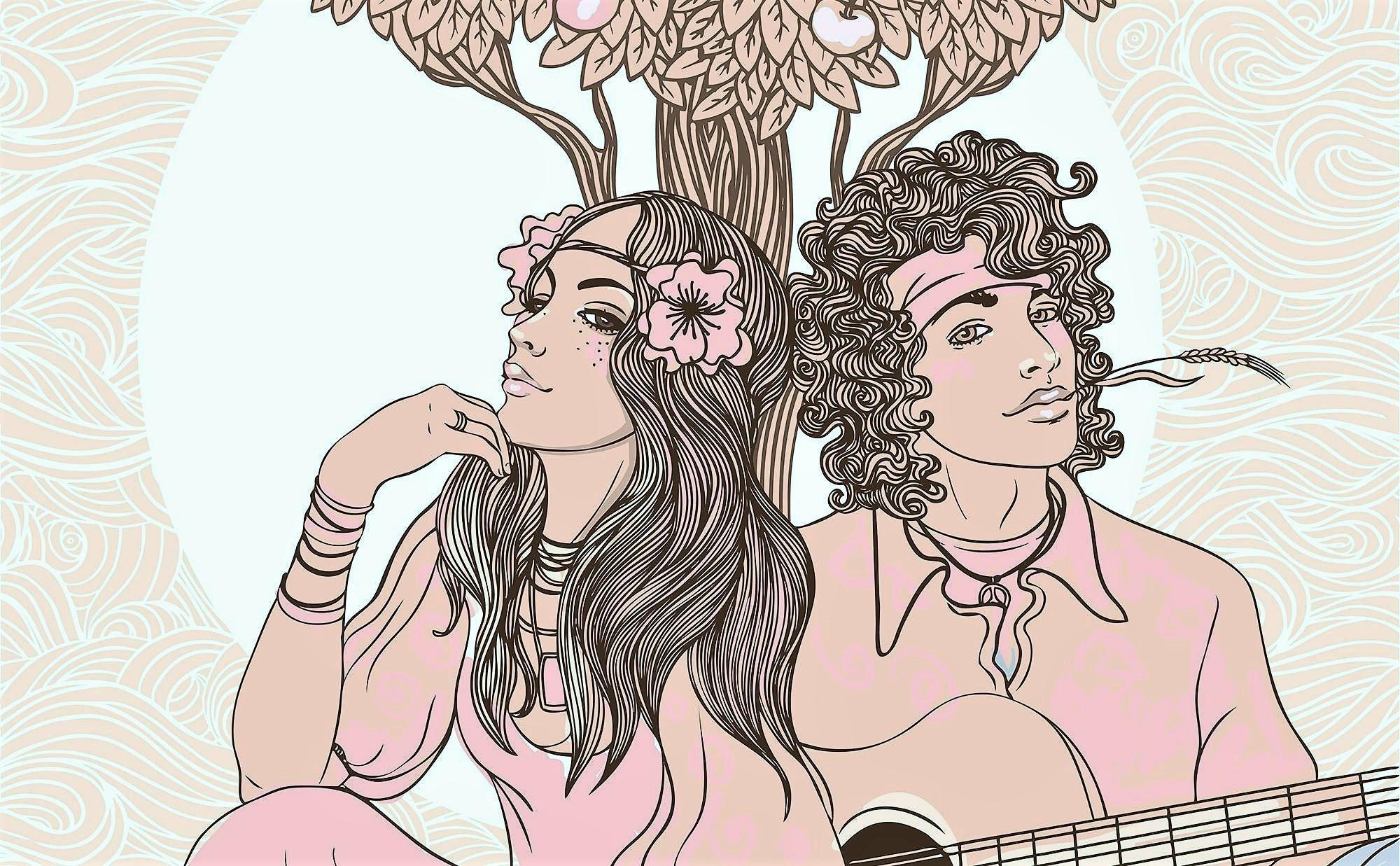 Imagen Hippies